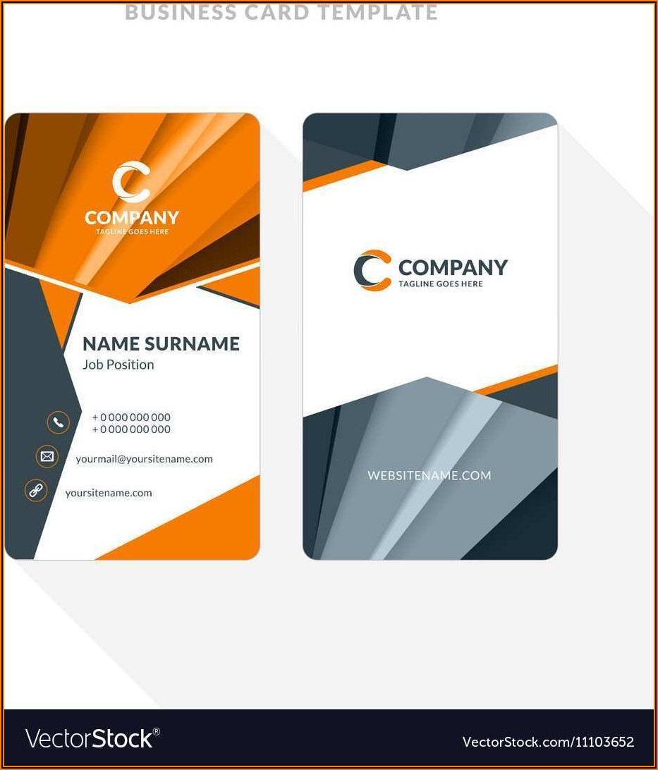 Business Card Template Word Online