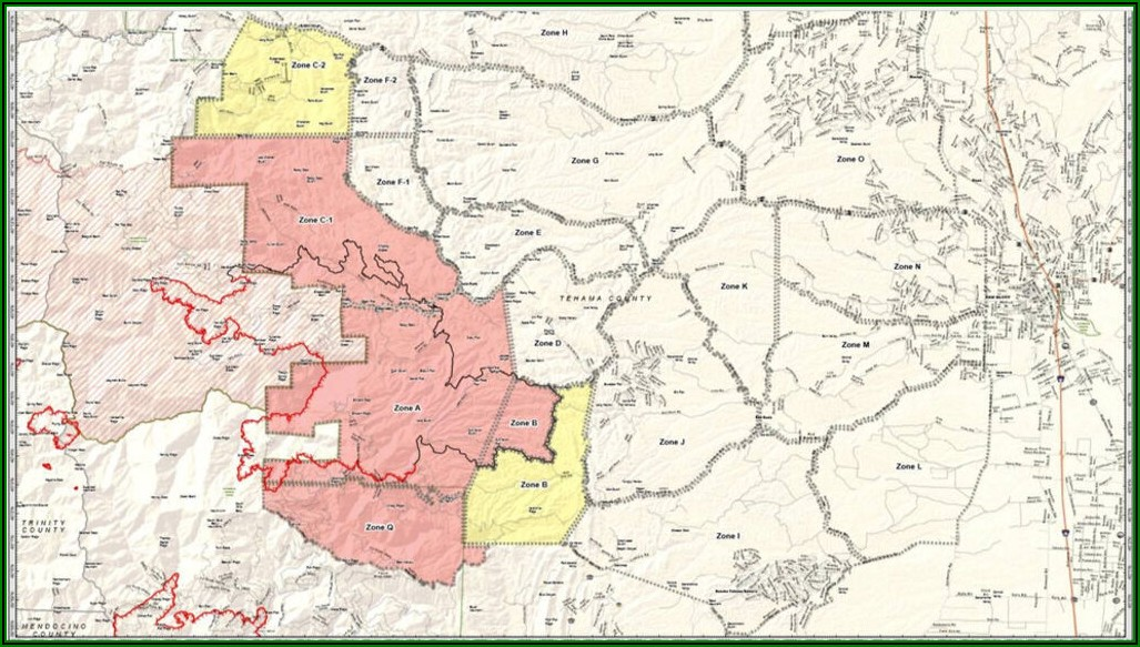 Butte County Fire Map