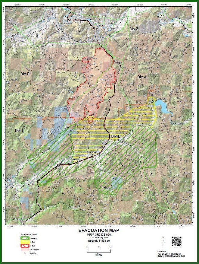 Butte County Interactive Fire Map