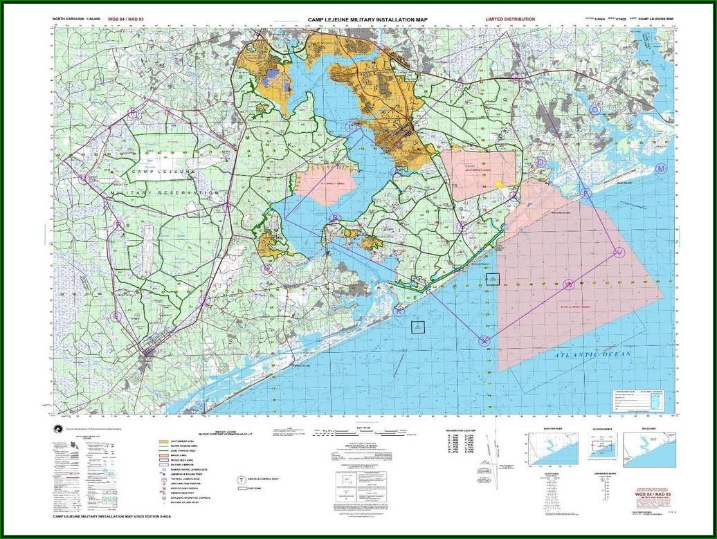 Camp Lejeune Range Map