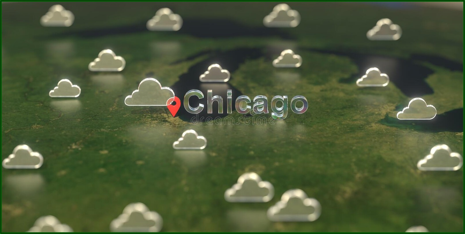 Chicago Weather Map Forecast