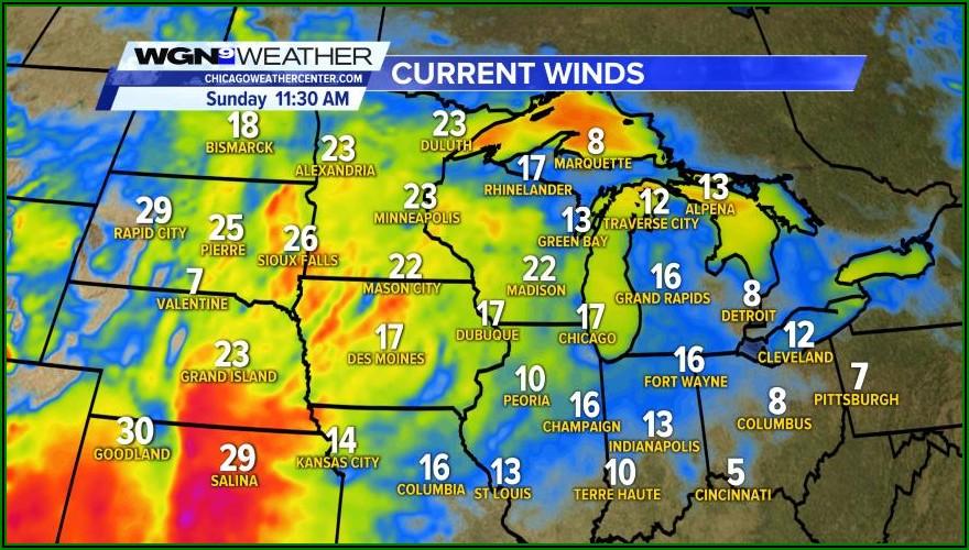 Chicago Weather Radar Map Wgn
