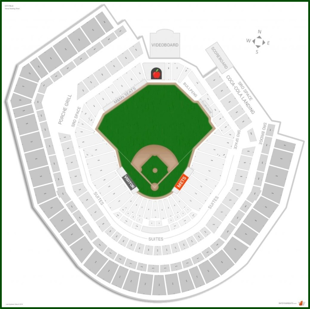 Citi Field Seat Map