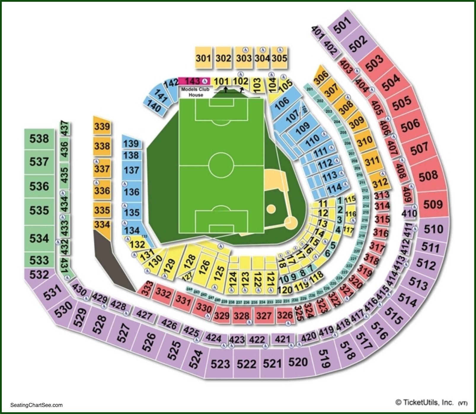 Citi Field Seating Chart 2020