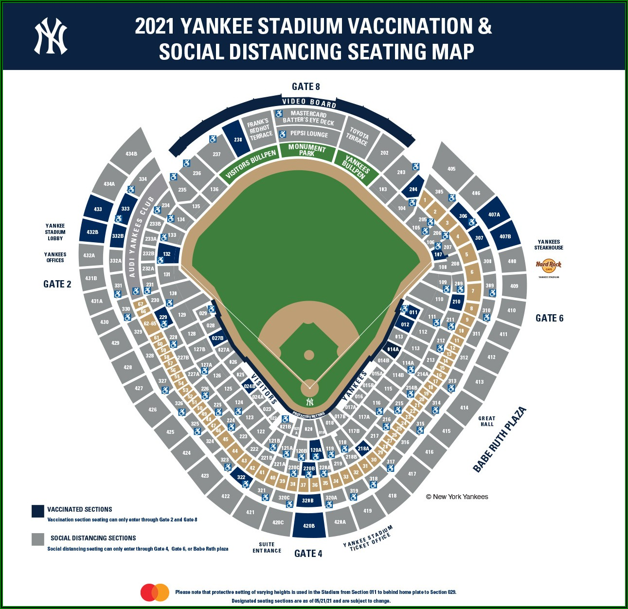 Citi Field Section Map