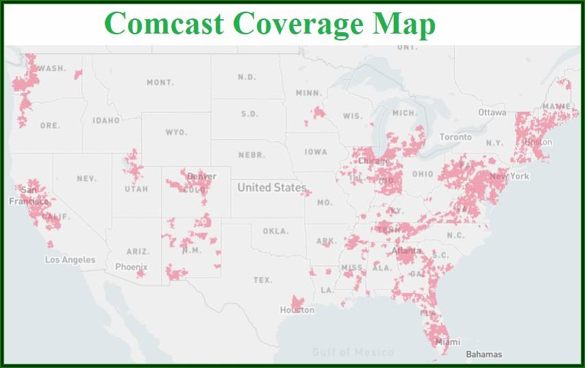 Comcast Xfinity Wifi Coverage Map
