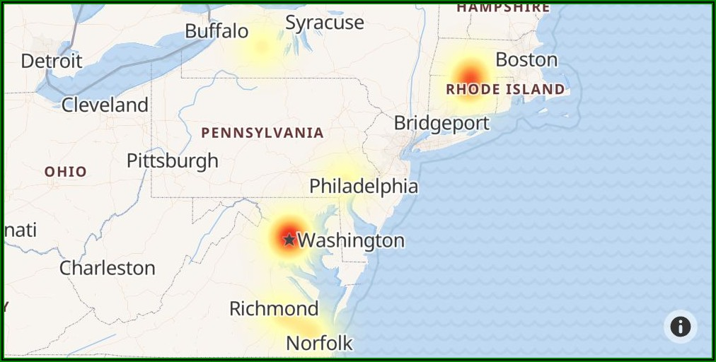 Cox Internet Outage Map Live