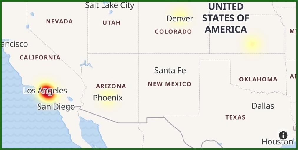 Cox Internet Outage Map Mesa Az