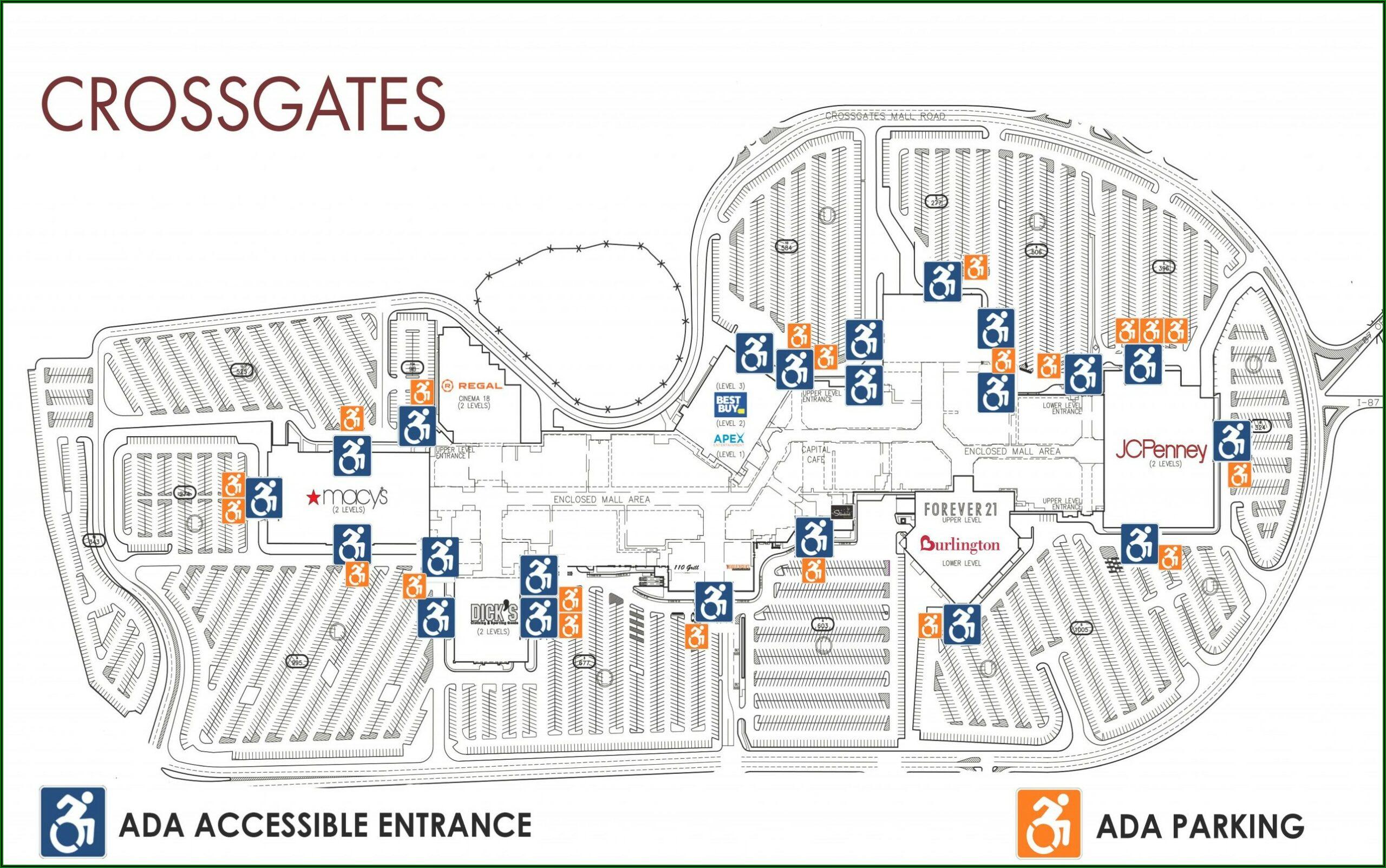 Crossgates Mall Map Pdf