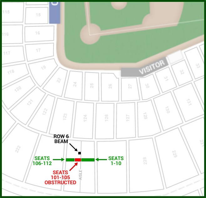 Cubs Seating Chart With Seat Numbers