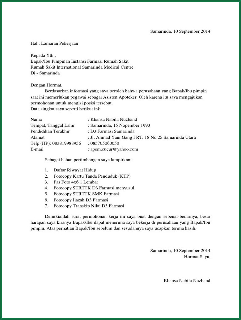 Curriculum Vitae Sample Download Pdf