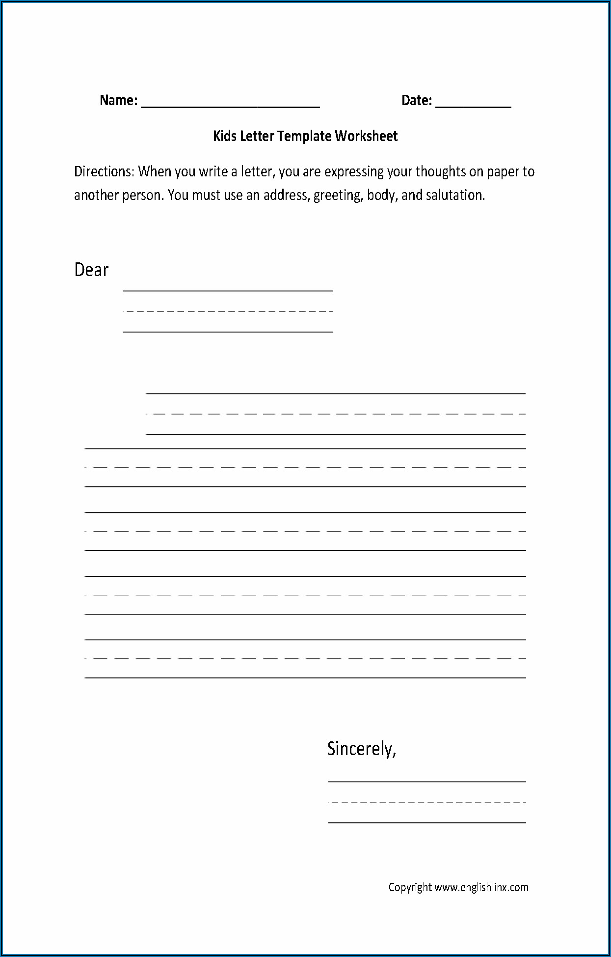 Esl Writing Worksheets For Adults Pdf