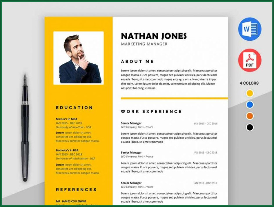 Free Printable Resume Templates Word