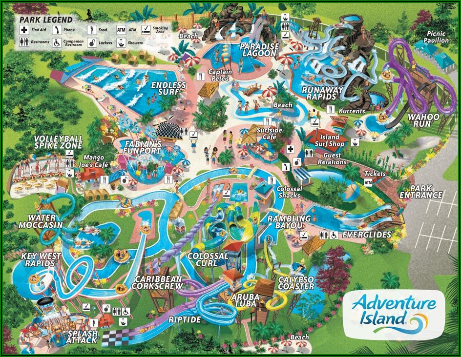 Google Maps Busch Gardens Tampa