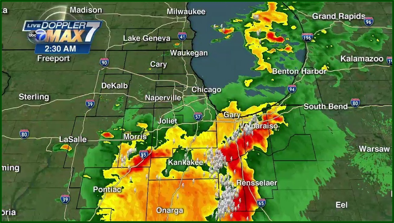 Interactive Weather Map Chicago Il