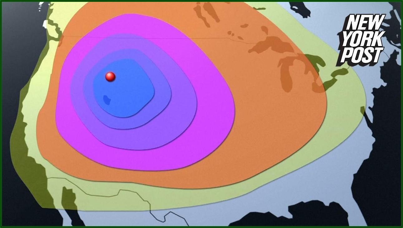 Kill Zone Yellowstone Supervolcano Map