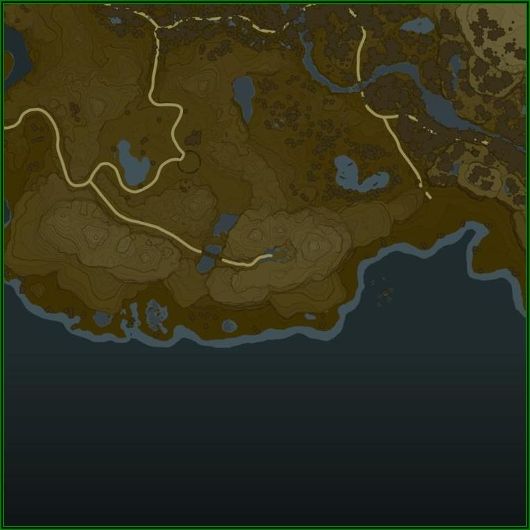 Legend Of Zelda Breath Of The Wild Interactive Map