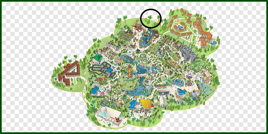 Legoland Florida Map 2019