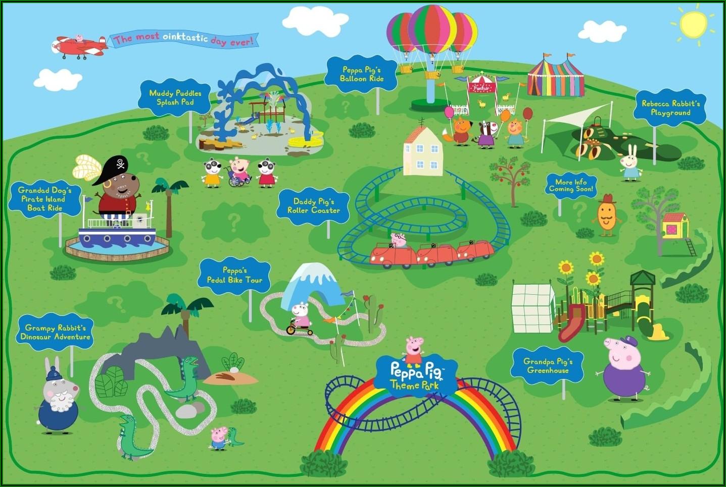 Legoland Florida Park Map 2019