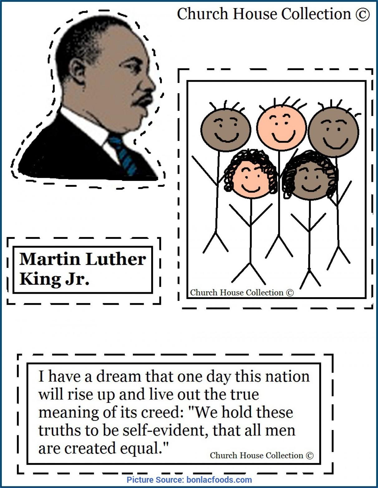 Martin Luther King Jr Worksheet 3rd Grade