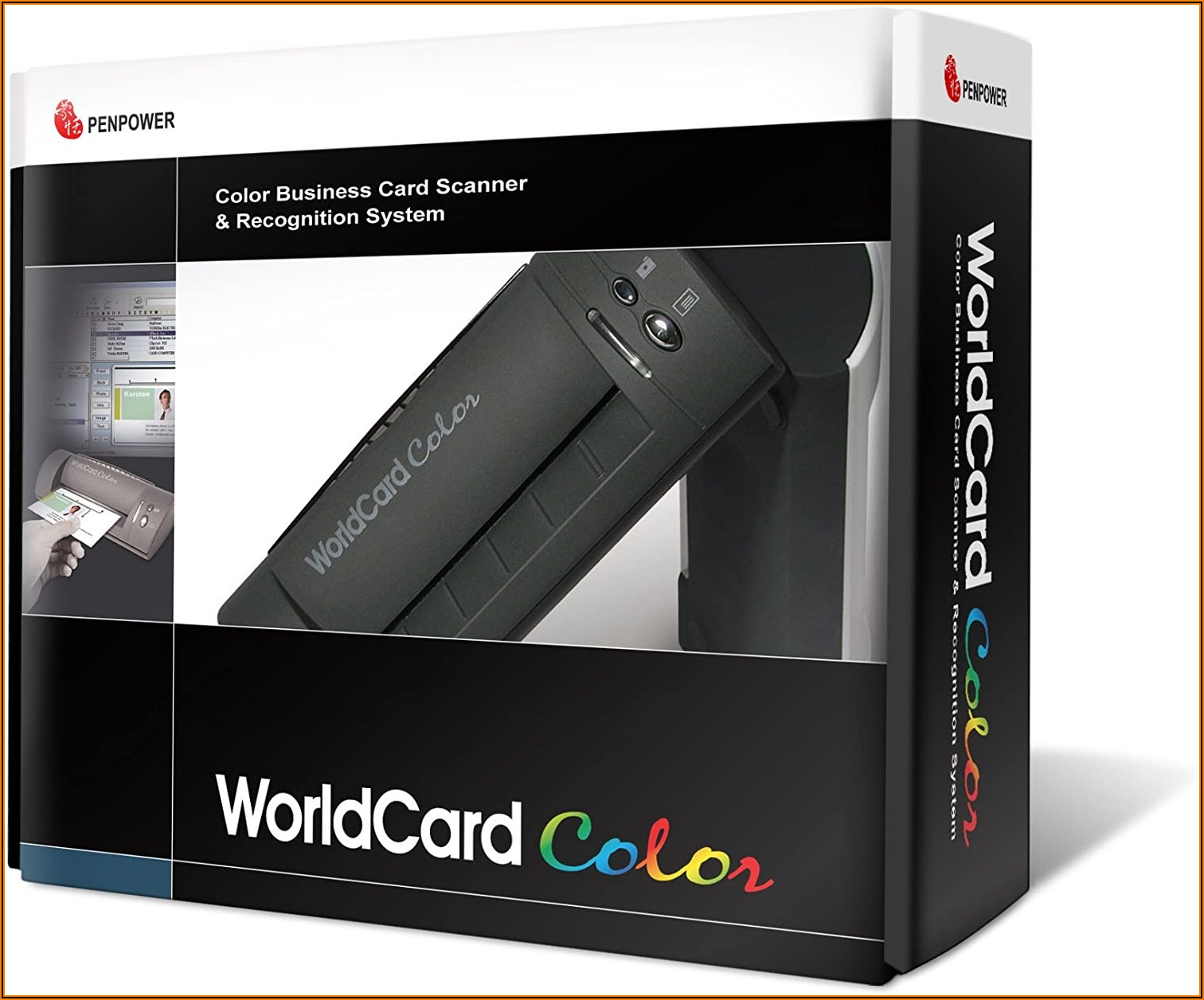 Penpower Worldcard Color Business Card Scanner Manual