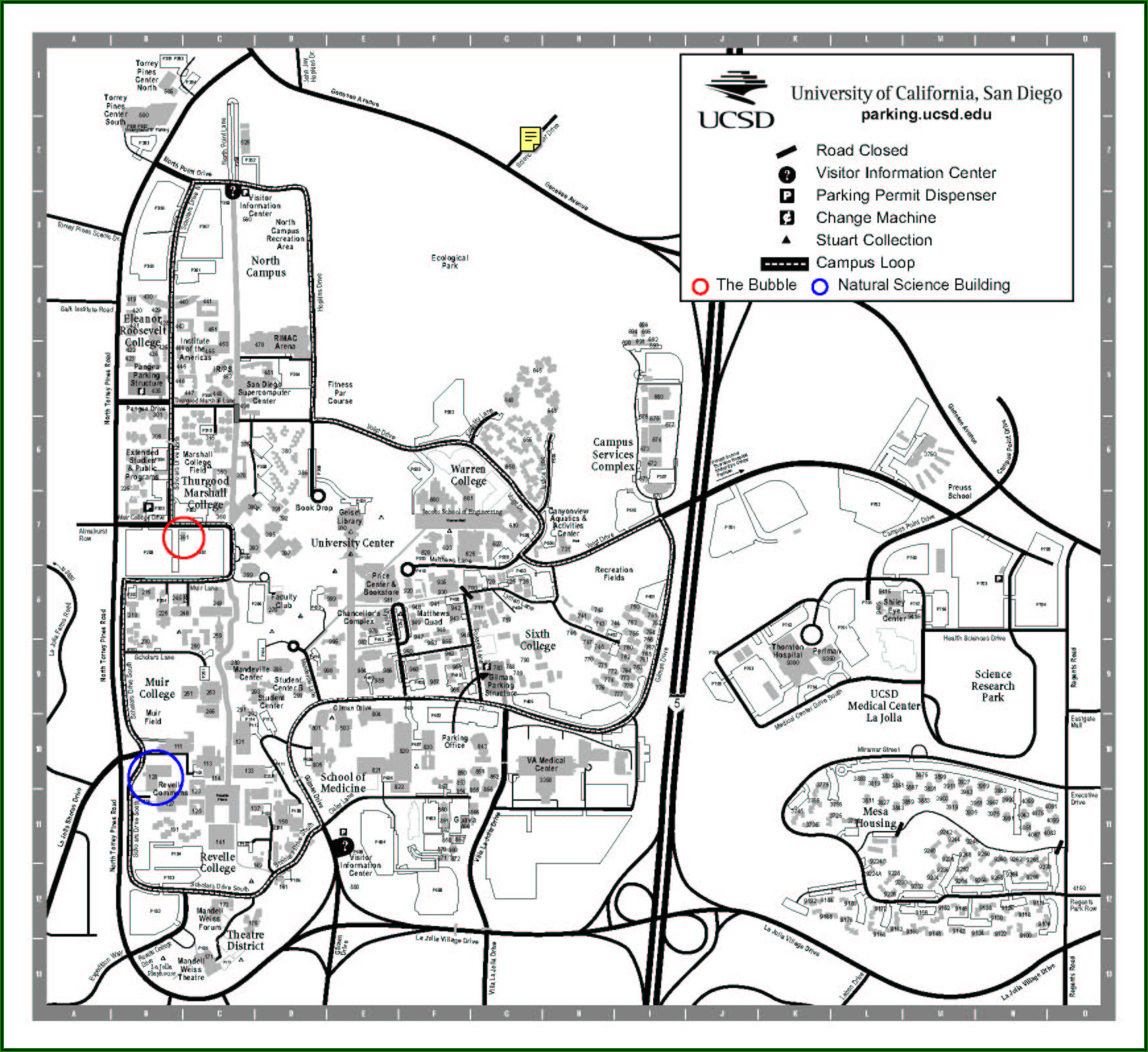 Ucsd Campus Map Pdf