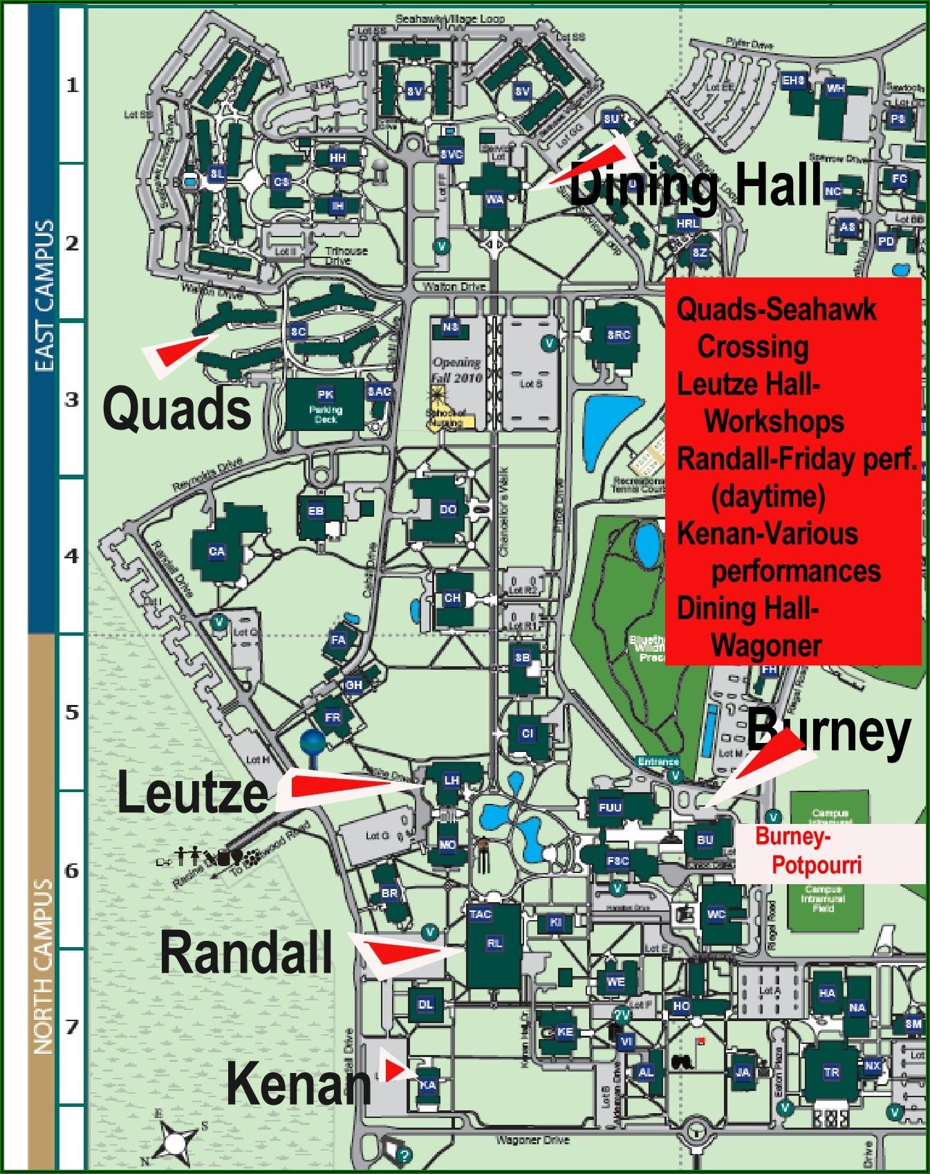 Uncw Campus Map 2019