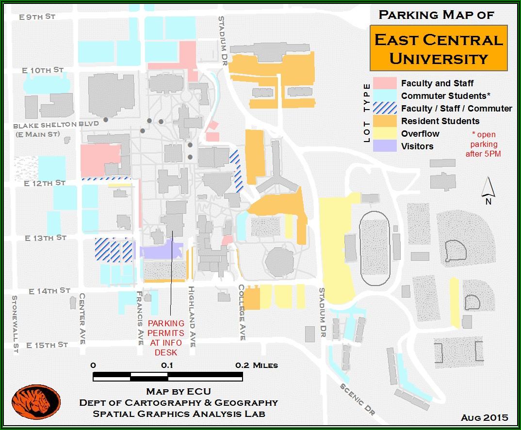 Uncw Campus Map Pdf