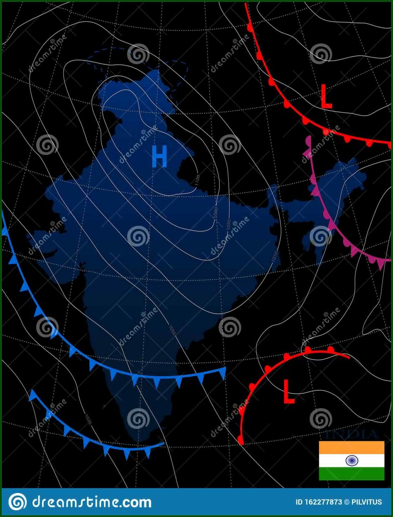 Weather Forecast Map India