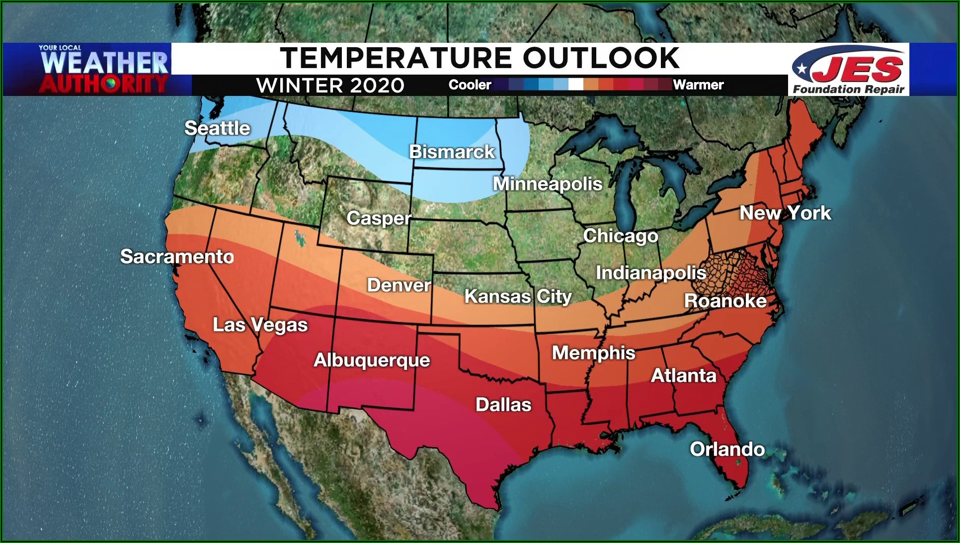 Weather Forecast Map Southeast Us