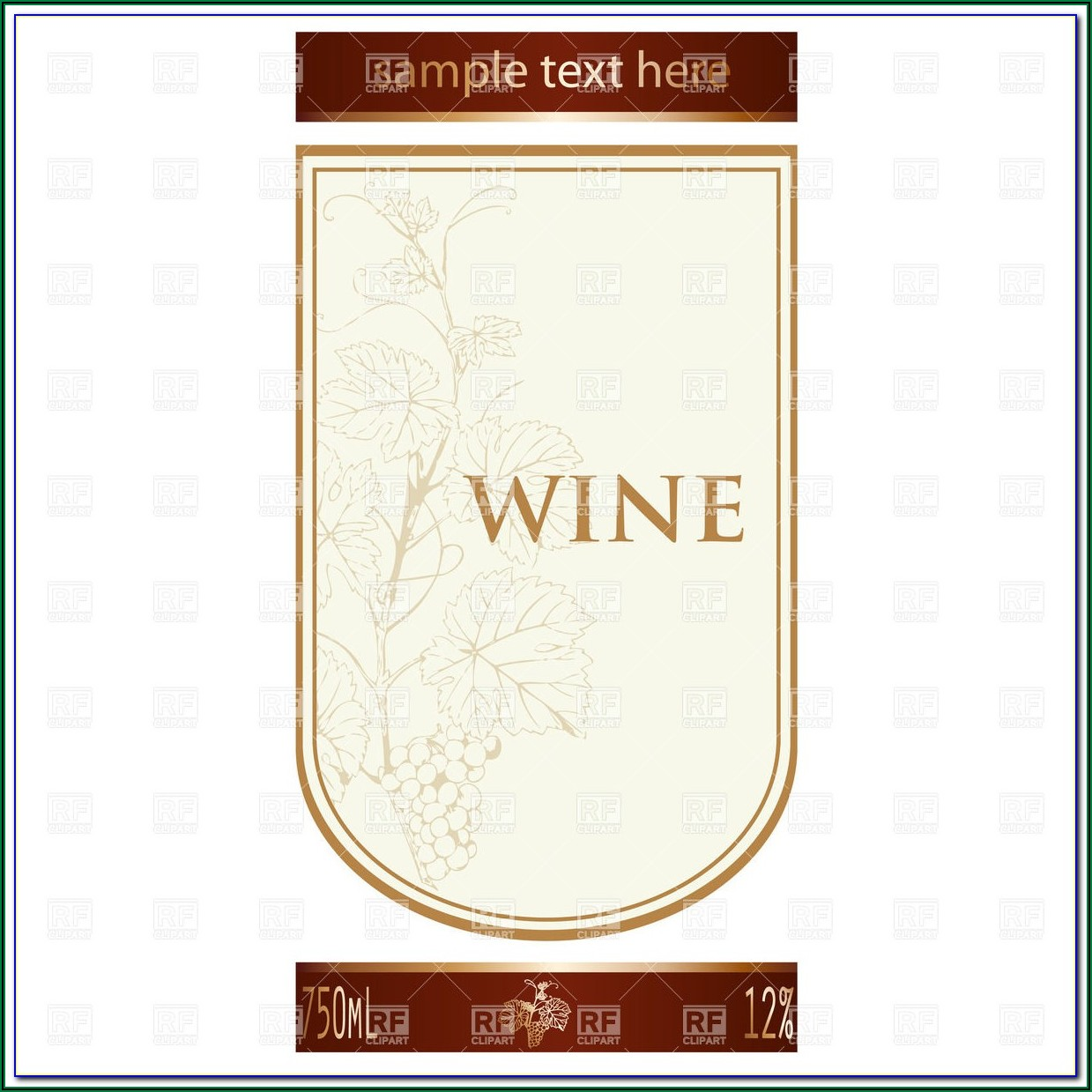 Wine Bottle Labels Template Free Download