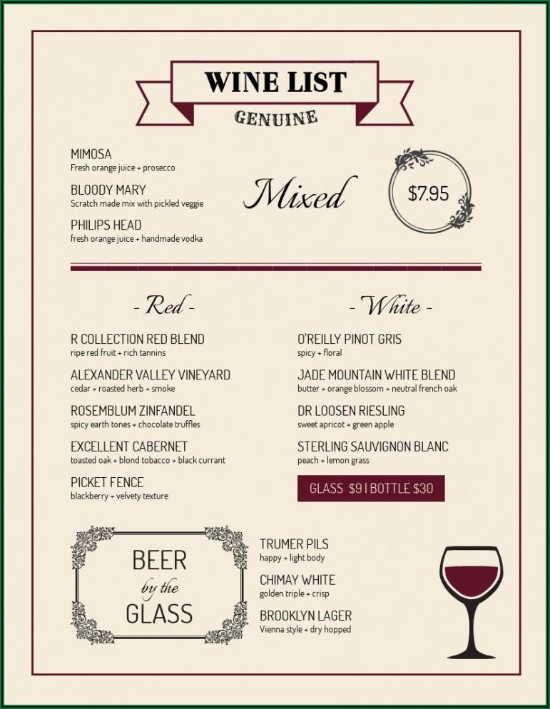 Wine Business Plan Template