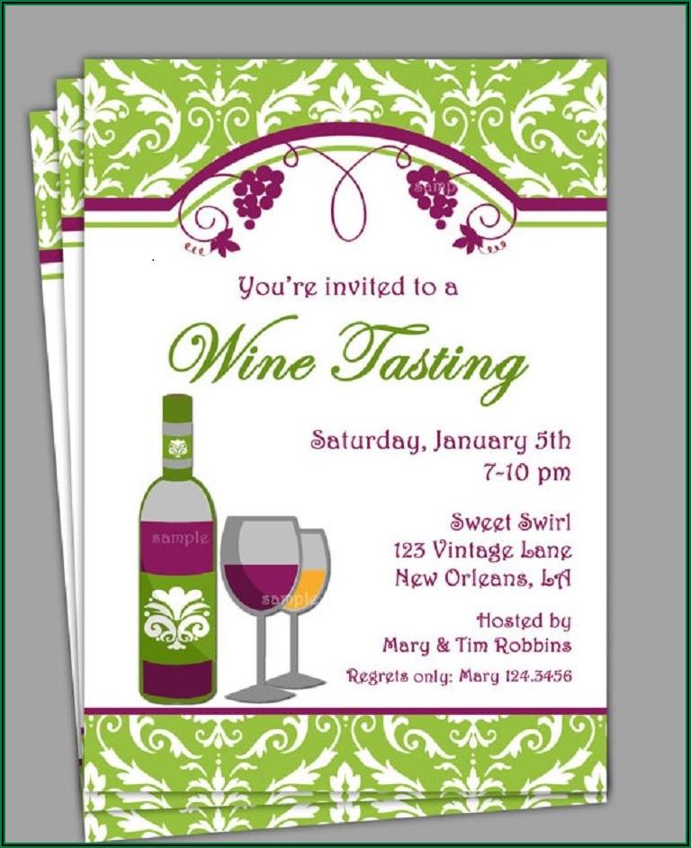 Wine Dinner Invitation Wording
