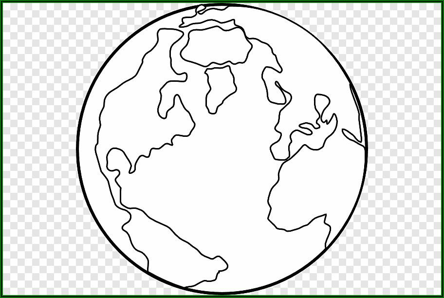 World Map Coloring Sheet