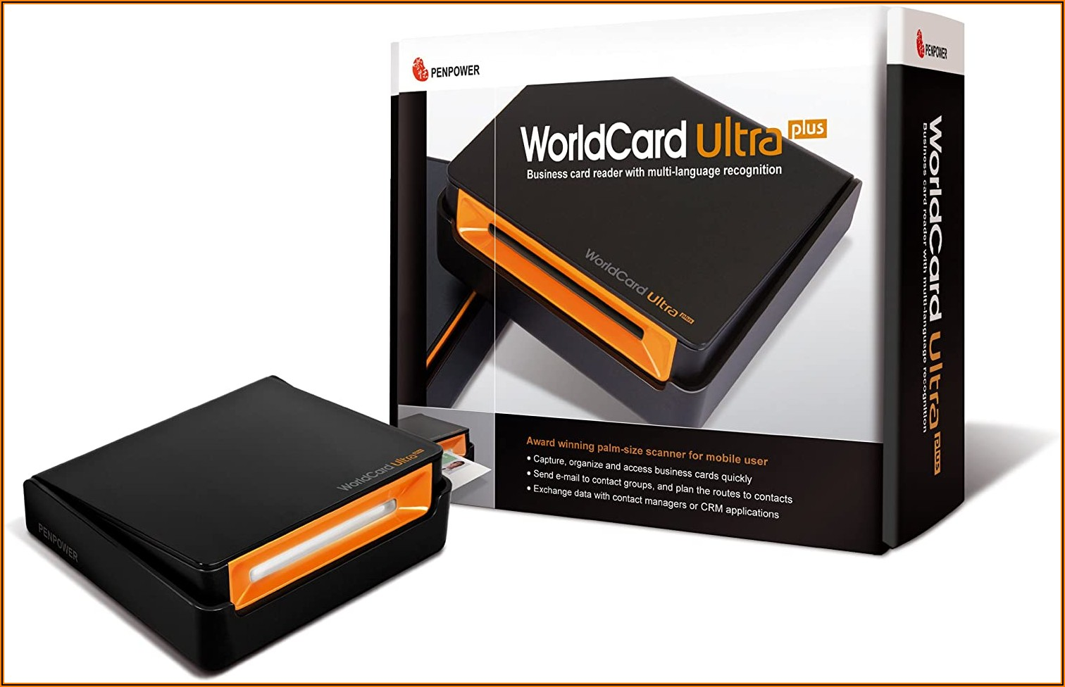 Worldcard Color Desktop Business Card Scanner