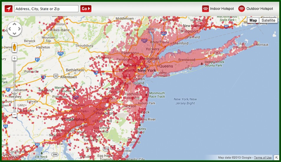 Xfinity Coverage Map Internet