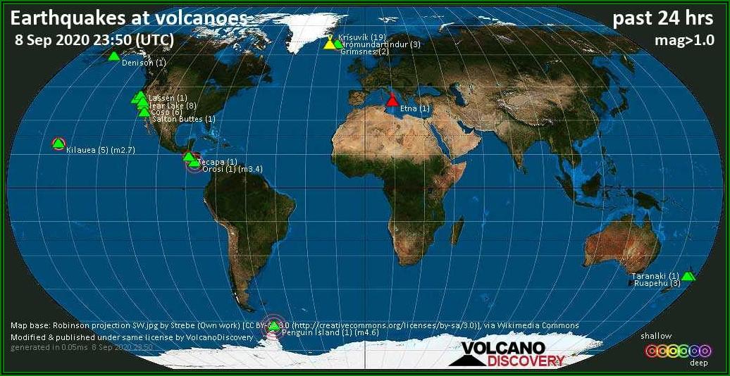 Yellowstone Supervolcano Blast Radius Map
