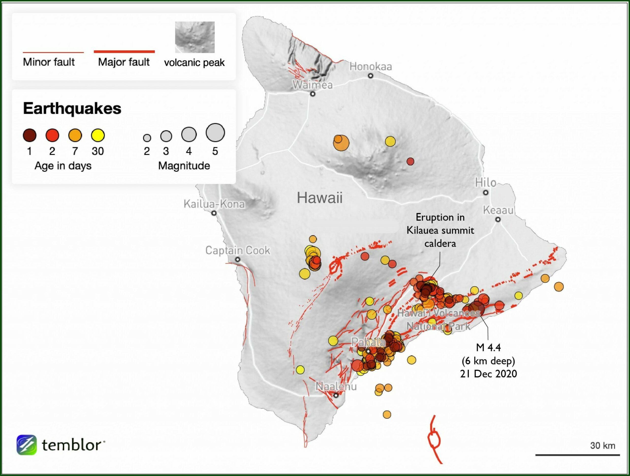 Yellowstone Supervolcano Eruption 2020 Map
