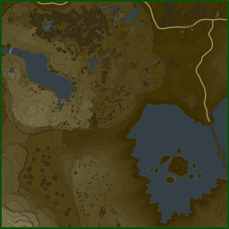Zelda Breath Of The Wild Interactive Map Download