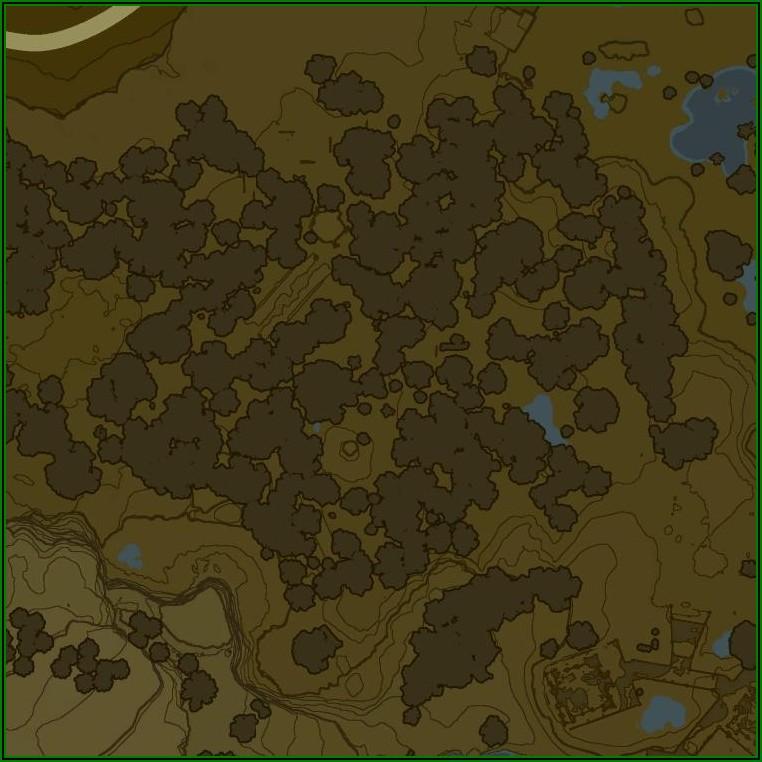 Zelda Breath Of The Wild Interactive Map Ign