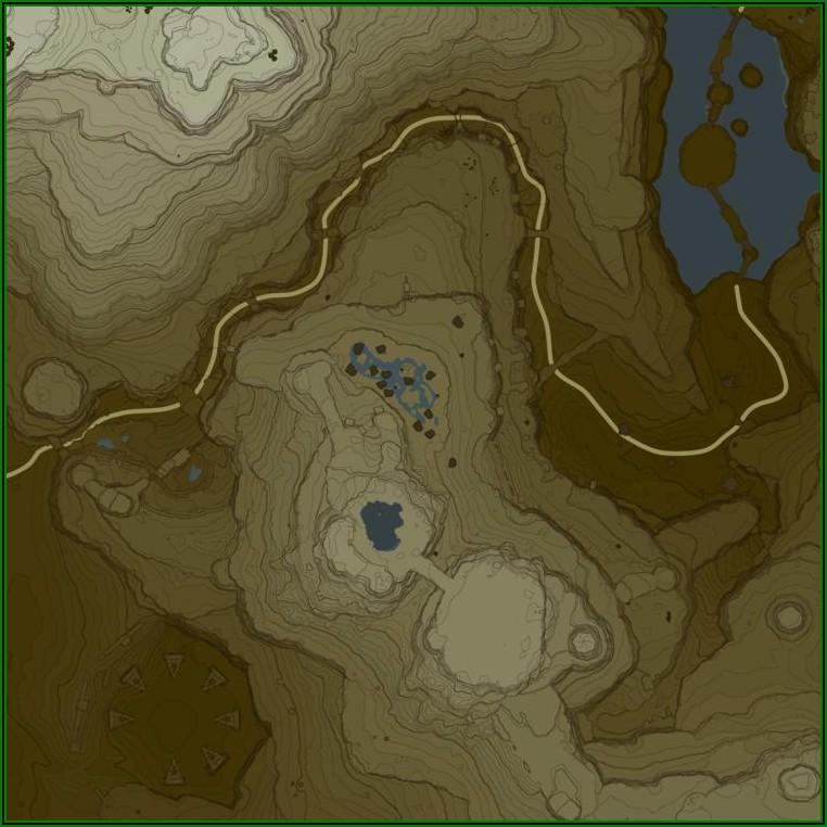 Zeldadungeon.net Breath Of The Wild Interactive Map